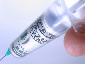 money-needle